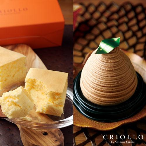 幻のチーズケーキ+モンブラン