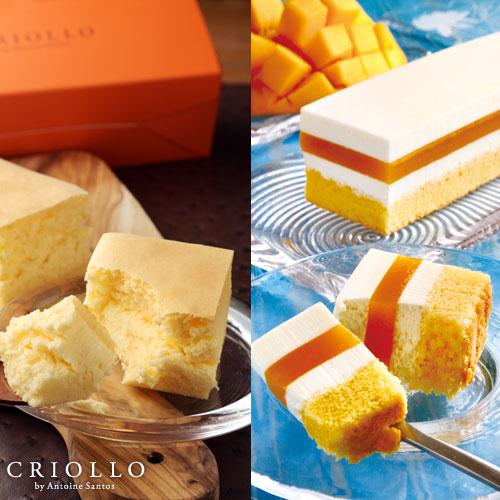 レアチーズマンゴー+幻のチーズケーキ