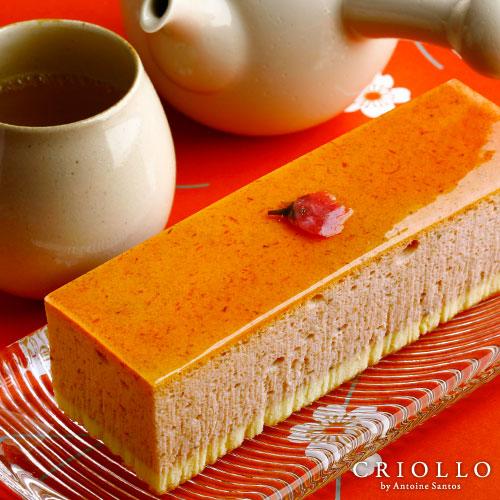 桜チーズケーキ