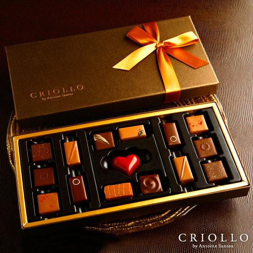 ★Y17★【チョコレート】ゴールドセット ボンボンショコラ 15粒入り詰め合わせ【冷蔵便】