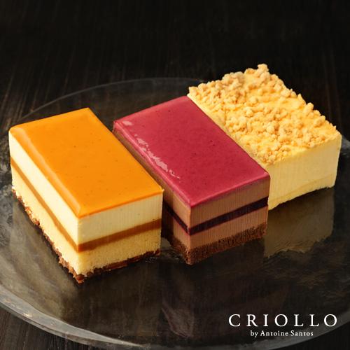 ハーフケーキ3点食べ比べセット(ガイア・ニルヴァナ・ニューヨークチーズケーキ)【冷凍便】