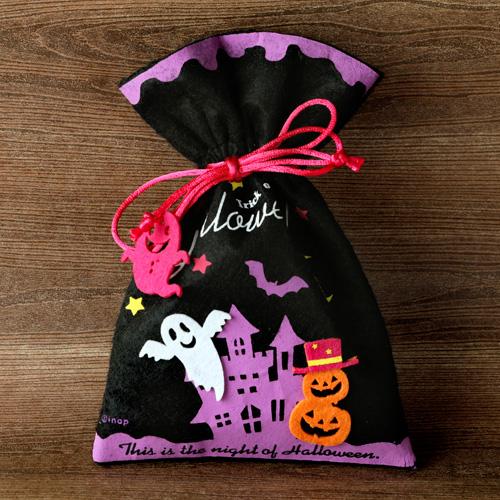 ハロウィンギフトポーチ 焼き菓子セット【常温便】(ヨーヨーショコラ フィナンシェ・プレーン)
