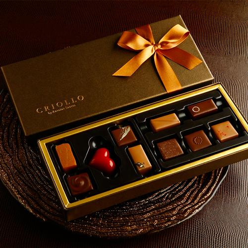 【チョコレート】サントス・セレクト(チョコレート10個入)【冷蔵便】
