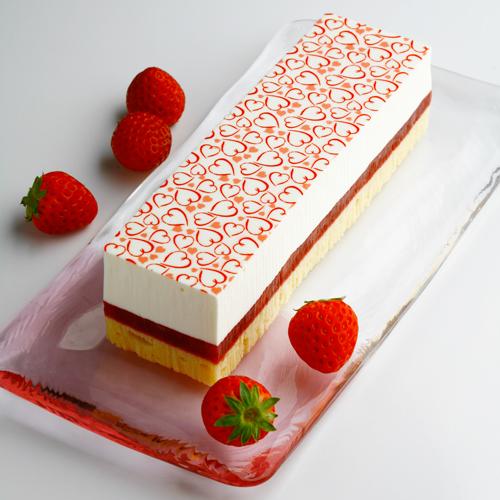 可愛くておいしい、いちごスイーツのお取り寄せ CRIOLLO 苺のレアチーズケーキ