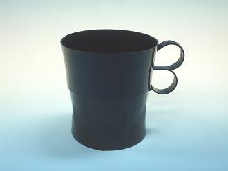 【バラ】 マルチカップホルダー黒 7オンス・8オンス対応 (1袋/10個)