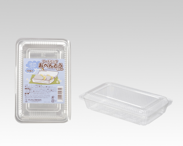 F-2D フードパック透明平型M 10枚×5パック