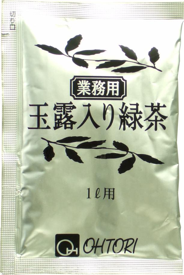 【バラ】GSD-100G1 業務玉露入り緑茶 10g×1