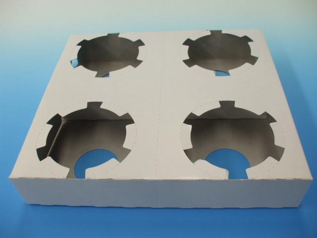 コーン&カップホルダー 4個穴 Mサイズ 400枚