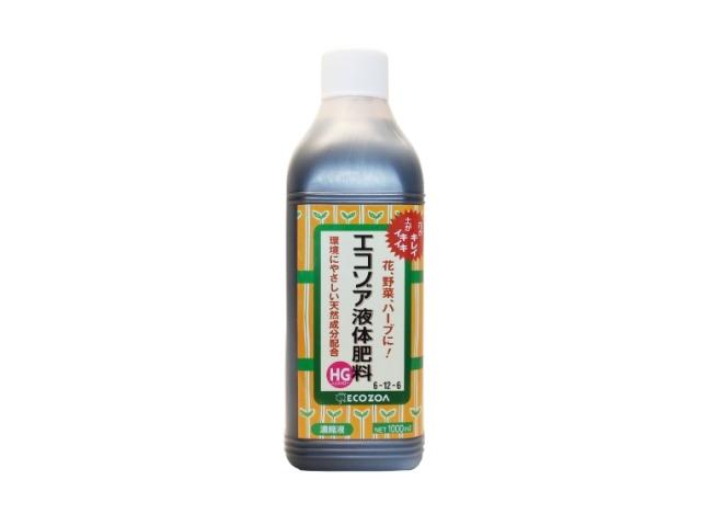 エコゾア液体肥料 1000ml