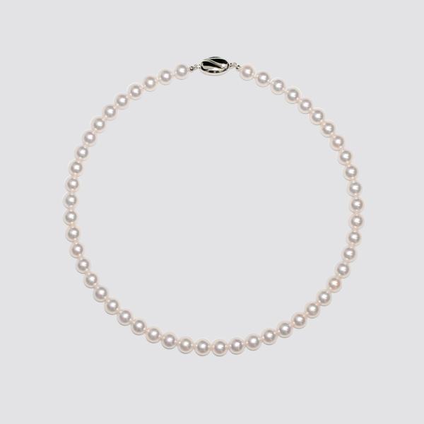 8.0-8.5mmアコヤ真珠ネックレス
