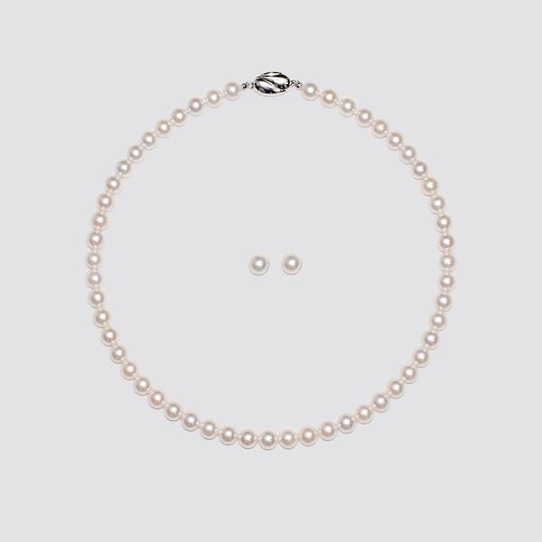 【セット商品】8.5−9.0mm あこや真珠2点セット