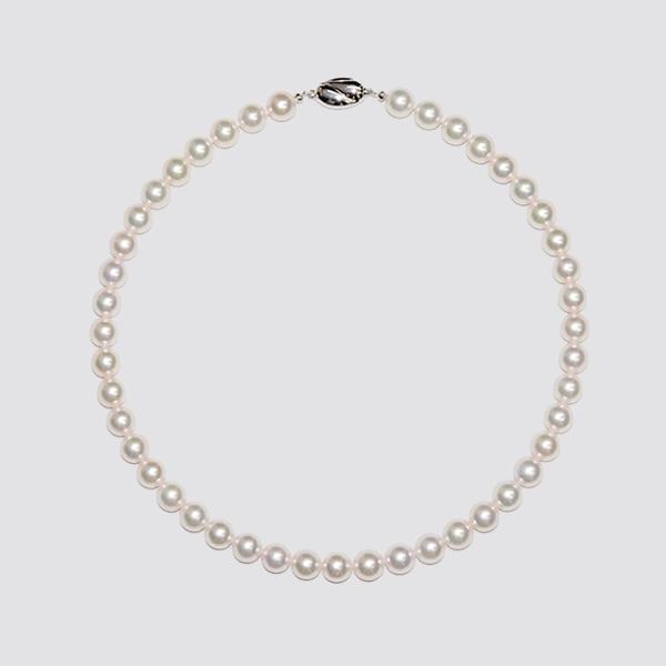 9.0-9.5mmアコヤ真珠ネックレス