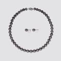 【セット商品】8.0-10.5mm 黒蝶真珠2点セット