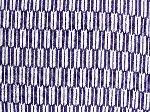 歴史を感じる和風生地 矢絣柄 矢羽根 レーヨンちりめん生地 紫色・パープル(0643-52)
