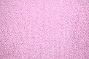 無地のレーヨンちりめん生地 縮緬生地 薄いピンク色・淡いピンク色(桃色)(0669-41)