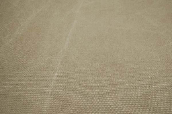 KINARI HOUSE 水洗い ヴィンテージ帆布 クラッシュ状のムラが入っています! ベージュ