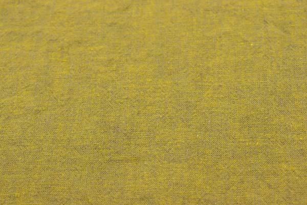 ベルギープルミエルリネン使用 ワッシャー加工のハーフリネンダンガリー からし×ベージュ
