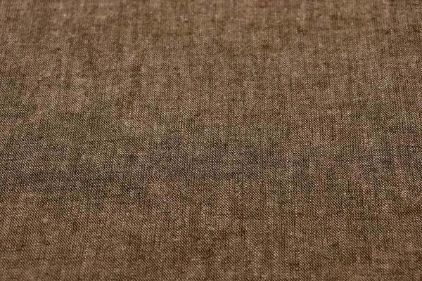 ベルギープルミエルリネン使用 ワッシャー加工のハーフリネンダンガリー こげ茶×ベージュ