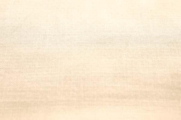 表綾織 裏平織の 60番手ダブルガーゼ バニラ