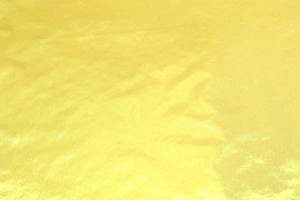 パールタイプのラメシャンブレー ベース色イエロー