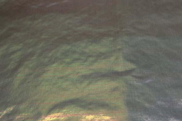 パールタイプのラメシャンブレー ベース色ブラック