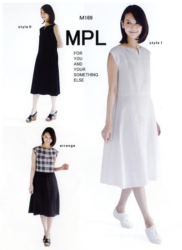 フレアー2スリーブドレス(M169)