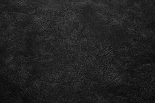 ルシアンのM STANDARD 10番オックスフォード レザー調プリント生地 黒