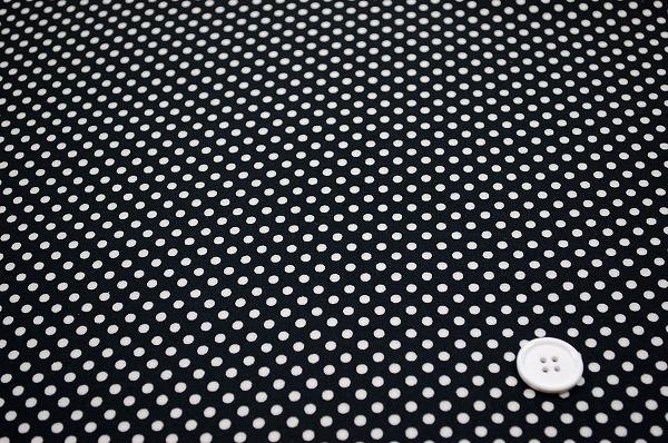 お洒落な水玉 ルシアンのドット柄 3mm Simple is BEST(0620-10)