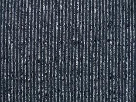 むら糸 和柄生地 和布 藍染風の伝統的な和風生地(縞・ストライプ)(0668-14)