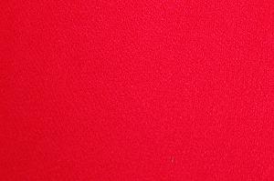 無地のレーヨンちりめん生地 縮緬生地 朱赤色(0669-45)