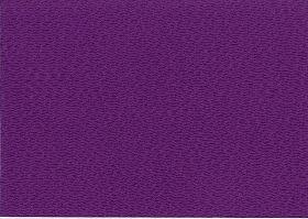 無地のレーヨンちりめん生地 縮緬生地 紫色・パープル(0669-59)