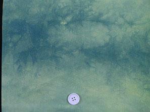 キャシー中島のムラ染め生地 ハワイアン生地 マイレグリーン 緑色 グリーン(0671-14)