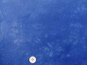 キャシー中島のムラ染め生地 ハワイアン生地 コナブルー 青色(0671-32)