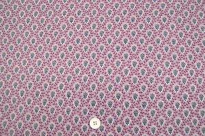 SOULEIADO ソレイアード 綿ローン生地 プティット・フルール・デシャン  ピンク色(0675-01)