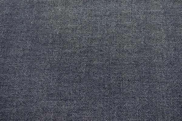 むら糸 和柄生地 和布 藍染風の伝統的な和風生地 鮫肌小紋