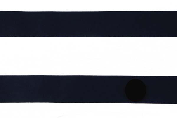人気の和柄シリーズ 棒縞(牛蒡縞) オフ×黒