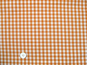 ギンガムチェック 6mm オレンジ(1105-75)