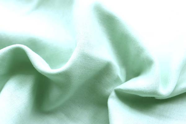 ベビーの衣料やマスクに最適な ダブルガーゼ無地 ミントグリーン