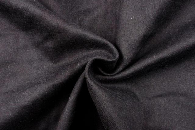 マスクの裏地に最適 吸湿・発熱ダブルガーゼ 黒