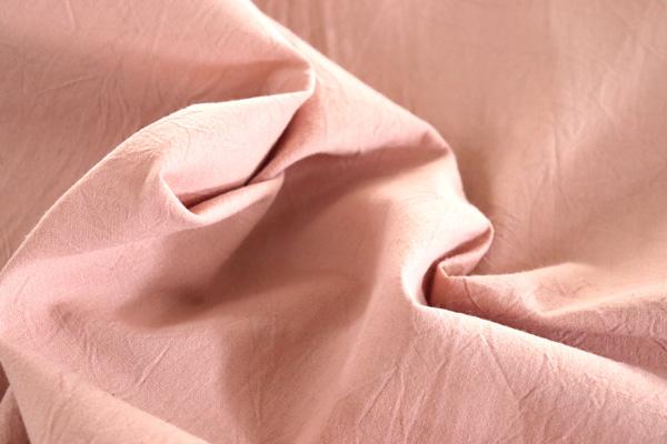 衣料にも手芸にも使える万能素材 シーチング ハンドワッシャー グレイピンク