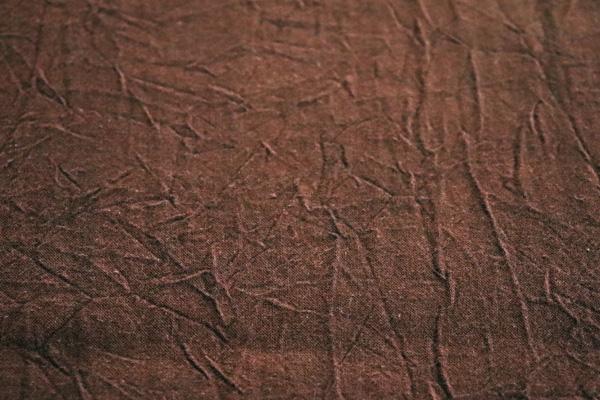 衣料にも手芸にも使える万能素材 シーチング ハンドワッシャー ブラウン