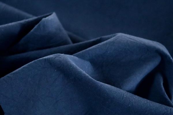 衣料にも手芸にも使える万能素材 シーチング ハンドワッシャー ネイビー