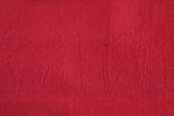 衣料にも手芸にも使える万能素材 シーチング ハンドワッシャー レッド