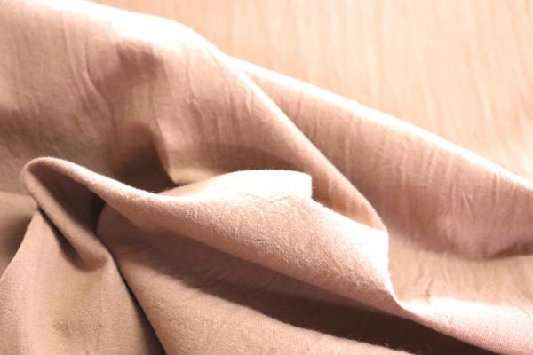 衣料にも手芸にも使える万能素材 シーチング ハンドワッシャー ライトブラウン