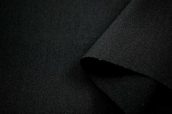 扱いやすい 11号カラー帆布 黒