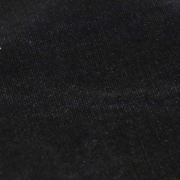 KINARI HOUSE 水洗い ヴィンテージ帆布 クラッシュ状のムラが入っています! 炭黒