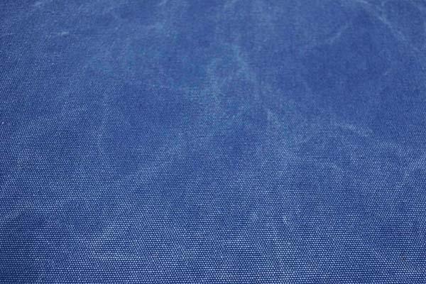 KINARI HOUSE 水洗い ヴィンテージ帆布 クラッシュ状のムラが入っています! ブルー