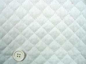 無地のブロードキルティング  白色・ホワイト(1171-01)