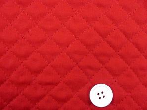 無地のブロードキルティング   赤色・レッド(1171-08)