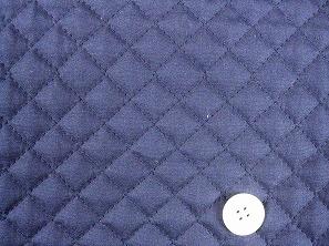 無地のブロードキルティング  紺色・ネイビー(1171-11)